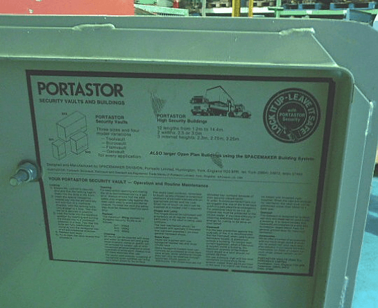 Portastor Heavy Duty Tool Storage Unit