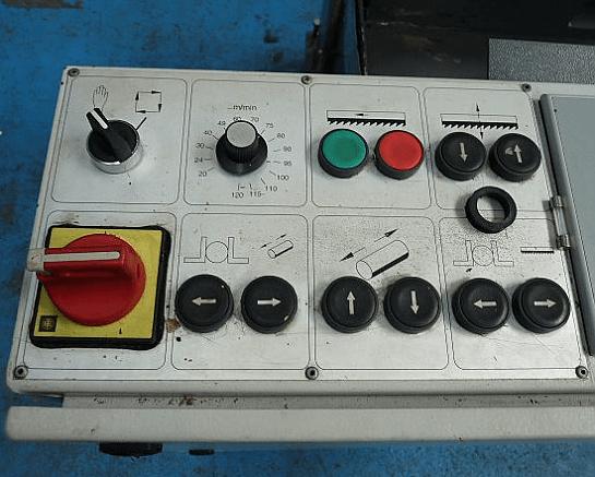 Bauer SA320ZA Automatic Twin Column Bandsaw