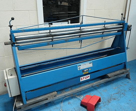 Walton 2000 x 50mm Intitial Pinch Power Bending Rolls