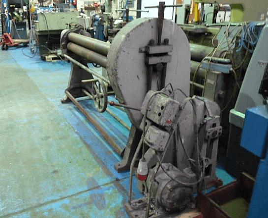 1880 x 3mm Initial Pinch Power Bending Rolls
