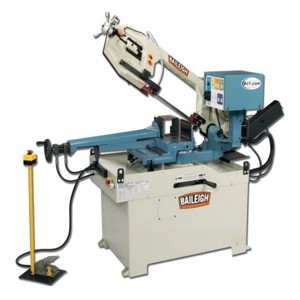New Baileigh BS-350SA Semi Automatic Horizontal Band Saw