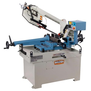 New Baileigh BS-350M Manual Horizontal Band Saw