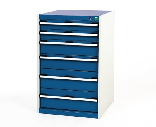 BOTT Cubio VERY HEAVY DUTY 6 drawer cabinet 650mm wide