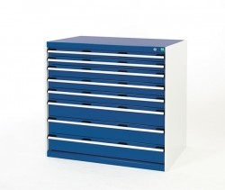 BOTT Cubio 8 drawer cabinet 1050mm wide VERY HEAVY DUTY