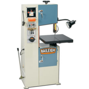 New Baileigh BSV-12 Manual Vertical Band Saw