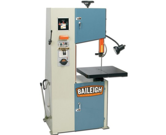 New Baileigh BSV-16 Manual Vertical Band Saw