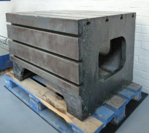 Radial Arm Drill Box Table