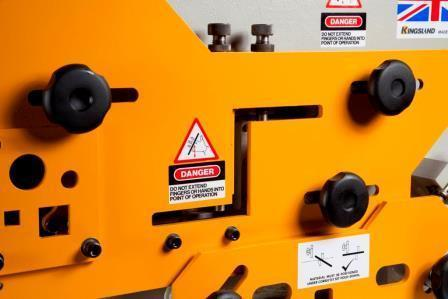 New Kingsland Steelworker Compact 80, 5 station, single operator, 80 tonne