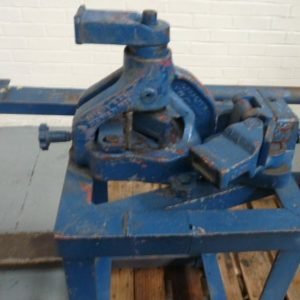 Whitney Hand Operated Bar Bender and Angle Cropper