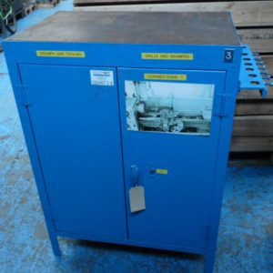 Heavy Duty Tooling Cabinet With Three Shelves