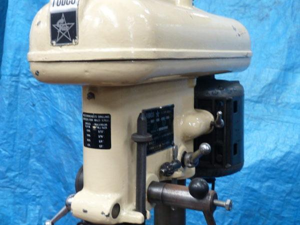"""Fobco Star 1 Morse Taper 1/2"""" Bench Drill 240V"""
