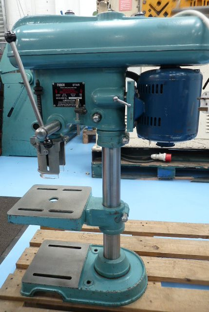 "Fobco Star 1/2"" Bench Drill 240v 1 Phase SUPERB"