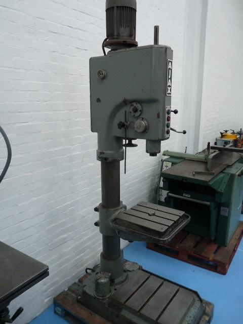 Ajax AJ40 4 Morse Taper Heavy Duty Pillar Drill with Power Feed