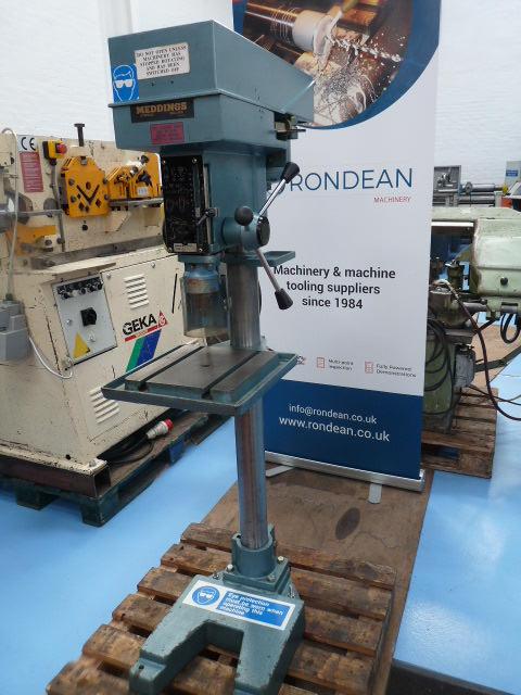 Meddings MF4 2 Morse Taper 22mm Pillar Drill