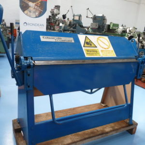 "Edwards Truefold 50"" 1250mm Heavy Duty Hand Operated Straight Folder"