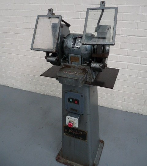 Hopkins Double Ended Pedestal Grinder
