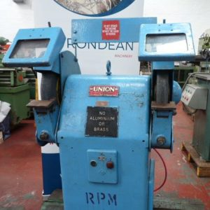 Union G14 Double Ended Pedestal Grinder 14""