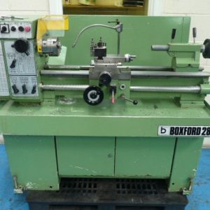 "Boxford 280 30"" Straight Bed Centre Lathe"