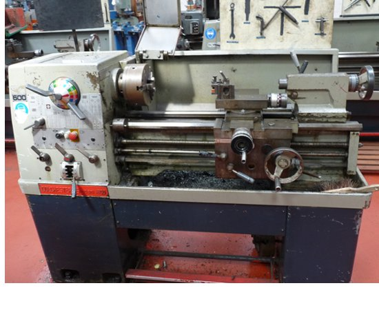 """Colchester Student 1800 25"""" Straight Bed Centre Lathe"""