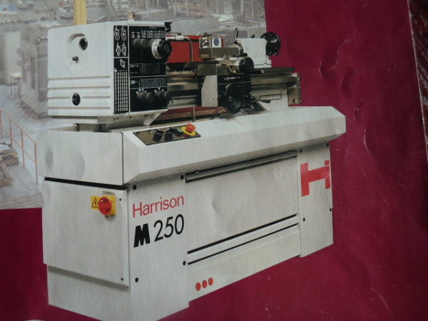Harrison M250 2000rpm Straight Bed Centre Lathe