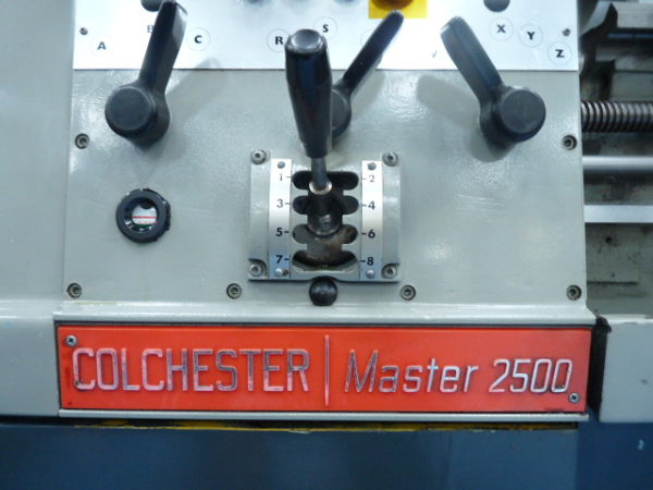 "Colchester Master 2500 25"" Gap Bed Centre Lathe SUPERB with tooling"