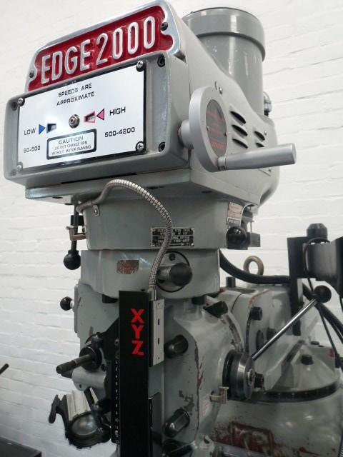 XYZ KR-V2000 Turret Mill with Proto TRAK CNC control EXCELLENT CONDITION