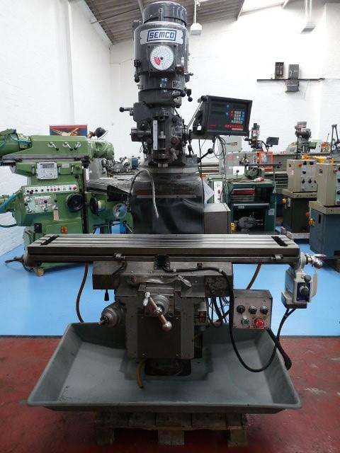 Semco LC-185-VS Vari SpeedTurret Mill