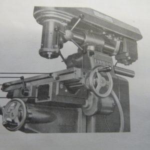Elliott Model 00 Vertical Milling Machine
