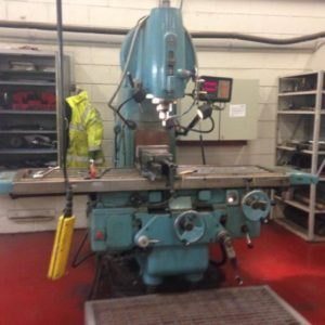 TOS V5 50int Vertical Milling Machine