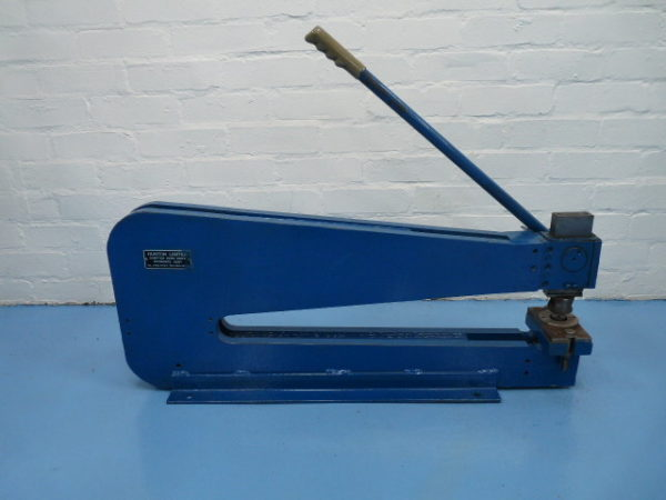 "Hunton Hand Operated Bench Punch 24"" 610mm throat 3 ton capacity"