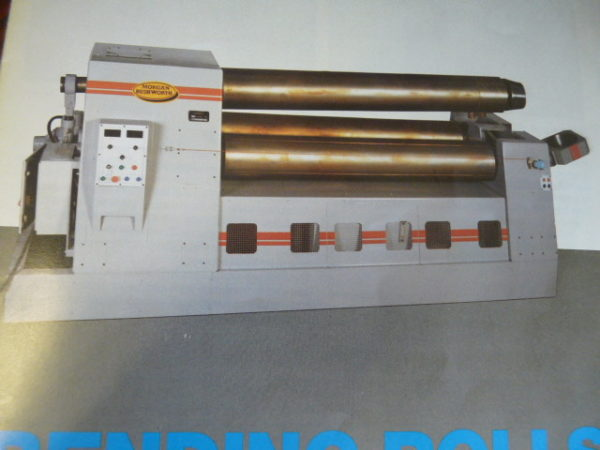 Morgan Rushworth 1250 x 9mm Double Pinch Power Bending Rolls