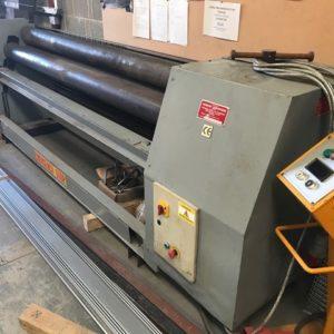 Morgan Rushworth 2500 x 3.2mm Initial Pinch Power Bending Rolls