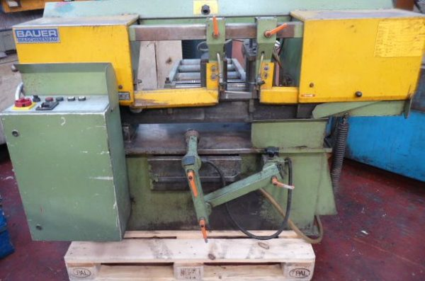 Bauer HS2650A Automatic Band Saw