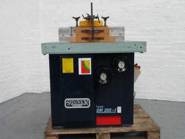 Sedgwick SM 255-T Tilting Spindle Moulder - Like New