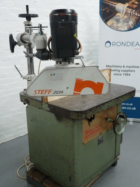 Wadkin BER 3 Spindle Moulder with Maggi Steff Auto Feed