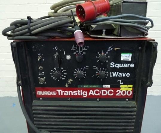 Murex Transtig 200 AC/DC Square Wave Welder